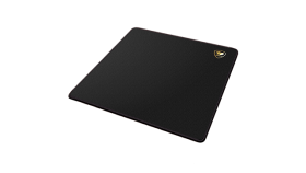 COUGAR Control EX-M, Gaming Mouse Pad, Water resistant, Stitched Border + 4mm Thickness, Wave-Shaped Anti-Slip Rubber Base, Natural Rubber, 320 x 270 x 4mm