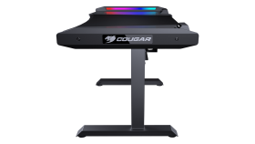 COUGAR Mars, Gaming desk, Multifunction Designs, Dual-sided RGB Lighting Effects, High-strength Welded Steel Frame for Maximum Stability, 1533 x 771 (mm), USB 3.0 x 2 / Audio Jacks x 2 /Power button / Reset button / Backlight button