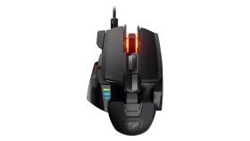 COUGAR 700M EVO gaming mouse,2-Zone RGB system (16.8 million colors),PMW3389 optical gaming sensor,16000 DPI,50M OMRON gaming switches,2000Hz Polling Rate, 50G Maximum Acceleration,105g Weight