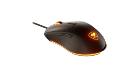 Cougar Minos XC, Gaming Mouse, ADNS-3050 Optical gaming sensor, 4000 DPI, 1000Hz Polling Rate, 128KB On-board Memory, COUGAR UIX Software, 6 Programmable Buttons, 20M gaming switches, LED Backlight, USB plug, 1.8m Cable Length, 125(L)x68(W)x38(H) mm