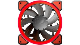 COUGAR Vortex FR 120 red LED, Cooling fan, Hydraulic Bearing, Speed 1200 R.P.M, Air Flow 36.72 CFM 62.36 m3/h, Dimensions 120 x 120 x 25mm