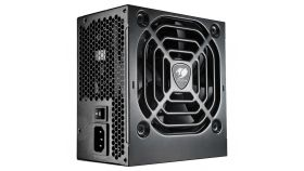 COUGAR VTX 500, 500W 80-PLUS Bronze, Full Black Sleeved Cables, Full Protections With OCP, SCP, OVP, UVP, OPP, Ultra-Quiet & Temperature-Controlled 120mm Fan