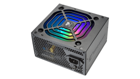COUGAR XTC550 ARGB, 550W, 80 Plus Efficiency, Connectors: 1x 24-pin MB, 1x 8-pin CPU, 2x P-ATA, 5x S-ATA, 2x PCI-E 8(6+2)-pin, Under&Over Voltage Protection, SCP, OPP, OCP, Superior Fan Curve Tuning, Active PFC, ARGB Sync, 105°C Japanese Capacitors