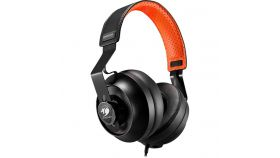 COUGAR Phontum Essential - Orange, Stereo Gaming Headset, 40mm Driver, Extra Large Foam Ear Pad, Steel Headband, Noise Cancellation Microphone, Volume and Microphone Mute Controls??