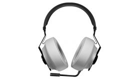 COUGAR Phontum Essential - White, Stereo Gaming Headset, 40mm Driver, Extra Large Foam Ear Pad, Steel Headband, Noise Cancellation Microphone, Volume and Microphone Mute Controls??