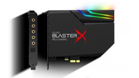 Звукова карта Creative Sound Blaster X AE-5, DAC + RGB AURORA LIGHTING, 7.1