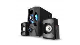 Озвучителна система Creative SBS E2900, 2.1, Bluetooth говорители, Черен