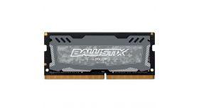 Crucial DRAM 4GB DDR4 2666 MT/s (PC4-21300) CL16 SR x8 Unbuffered SODIMM 260pin Ballistix Sport LT DDR 4 SODIMM - Grey, EAN: 649528781925