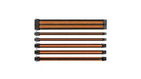 Комплект оплетени кабели Thermaltake TtMod Black/Blue