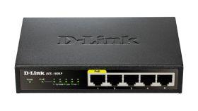 Комутатор D-Link DES-1005P/E  5-Port Fast Ethernet PoE Desktop Switch
