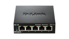 Комутатор D-Link 5-Port Gigabit Ethernet Metal Housing Unmanaged DGS-105/E
