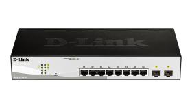 8-портов smart управляем комутатор D-link DGS-1210-10