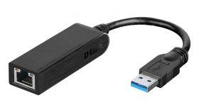 Адаптер D-Link  DUB-1312 USB 3.0 to Gigabit Ethernet Adapter