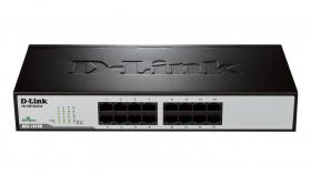 Суич D-Link DES-1016D/E, 16 портов 10/100, Desktop
