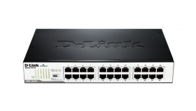 Суич D-Link DGS-1024D/E, 24 портов 10/100/1000, Desktop