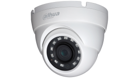 "Dahua HD-CVI camera 2MP, Water-proof, Day&Night, 1/2.9"" CMOS, 1920?1080 Effective Pixels, 25fps@1080P, Focal Length 3.6mm, View angle 80.8°, IR distance up to 30m, 0.02Lux/F2.0, 0Lux IR on, IP67, outdoor installation, 12V DC, max 2.8W"