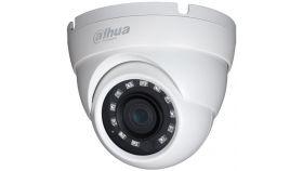 "Dahua HD-CVI eyeball camera 5MPix, Water-proof, Day&Night, 1/2.7"" CMOS, 2592?1944 Effective Pixels, 20fps@5MP, Focal Length 2.8mm, 98°, IR up to 30m 0.02Lux/F1.85, 0Lux IR on, IP67, 3.6W."