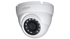 "Dahua HD-CVI camera 4.1MP Eyeball Water-proof, 1/3"" CMOS, 2688?1520 Effective Pixels, 25fps@4MP, Focal Length 3.6mm, View angle 84.8°, IR distance up to 30m, 0.03Lux/F2.0, 0Lux IR on, IP67 outdoor installation, 12V DC, max 3.2W."