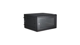 Шкаф Dahua 6U*600*450*370, за стенен монтаж, черен