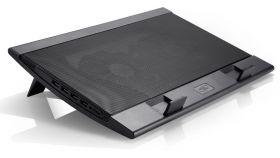 "Охлаждаща подложка DeepCool Wind Pal DP-N242-WPALBK до 17.3"" лаптопи"