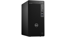 Dell OptiPlex 3080 MT, Intel Core i3-10100 (6M Cache, 4C, 3.6 GHz up to 4.3Ghz), 4GB (1x4GB) 2666MHz DDR4, 1TB SATA, Intel UHD Graphics, DVD-RW, Keyboard and Mouse, Win 10 Pro, 3Y Basic Onsite