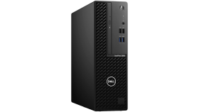Dell OptiPlex 3080 SFF, Intel Core i3-10100 (6M Cache, 4C, 3.6 GHz up to 4.3Ghz), 8GB (1x8GB) 2666MHz DDR4, 1TB SATA, Intel UHD Graphics, DVD-RW, Keyboard and Mouse, Ubuntu, 3Y Basic Onsite