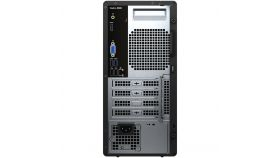 Dell Vostro 3888 MT, Intel Core i3-10100 (4C, 6M Cache, 3.6 GHz up to 4.3Ghz), 4GB (1x4GB) 2666MHz DDR4, 1TB SATA, Intel UHD Graphics, DVD-RW, Keyboard and Mouse, Ubuntu, 3Y Basic Onsite