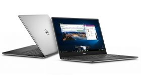 """Dell XPS 13 9360, i5-8250U Quad-Core (6M Cache, up to 3.4 GHz), 13.3"""" AG (1920x1080) InfinityEdge, 8GB LPDDR3 1866MHz, 512GB SSD NVMe, 45 Watt, 60WHr Integrated Battery, Killer 1535 802.11ac 2x2 WiFi and BT 4.1, Win 10 Home, Silver Aluminum, 3Y NBD"""