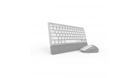 Безжичен комплект клавиатура и мишка Delux K3300G+M520GX сребрист