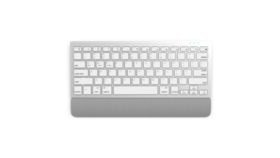 Безжична мултимедийна клавиатура Delux K3300GX сребрист
