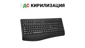 Безжична мултимедийна клавиатура Delux K6060G с БДС кирилизация