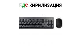 USB Комплект клавиатура и мишка Delux K6300U+M330BU