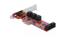 Контролер Delock SATA PCI Express Card - 10 ports