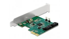 Контролер Delock SATA PCI Express Card - 2 ports