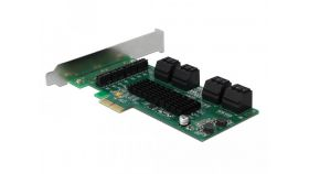 Контролер Delock SATA PCI Express Card - 8 ports