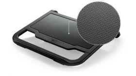 "Охладител за лаптоп DeepCool N200, 15.6"", 120 mm, Черен"