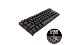 Геймърскa механична клавиатура Ducky One 2 Mini RGB, Cherry MX Brown