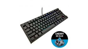 Геймърскa механична клавиатура Ducky One 2 RGB TKL, Cherry MX Blue