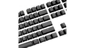 Капачки за механична клавиатура Ducky Black 108-Keycap Set PBT Double-Shot US Layout