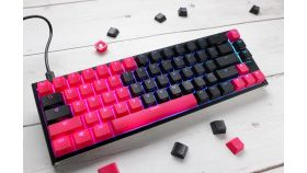 Капачки за механична клавиатура Ducky Red 31-Keycap Set Rubber Backlit Double-Shot US Layout