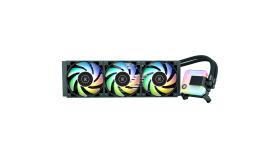 EK-AIO 360 D-RGB, 3x EK-Vardar S 120ER D-RGB 120mm PWM fans, ARGB, Pump Speed Range: 850 - 2600 RPM ± 10%, Intel Sockets LGA: 1150, 1151, 1155, 1156, 1200, 2011, 2011-3, 2066/AMD Sockets: AM4