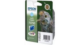 Ink Cartridge EPSON Light Cyan for Stylus Photo R1400 / P50