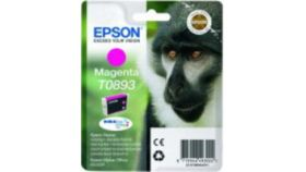 EPSON T0893 ink cartridge magenta low capacity 3.5ml 1-pack blister without alarm