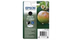 EPSON T1291 ink cartridge black high capacity 11.2ml 1-pack blister without alarm