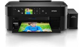 InkJet Printer EPSON L810, Consumer/Plain, Letter, 6 Ink Cartridges, CYlMKlCM, Print, Manual, 5,760x1,440dpi, 38Pages/minColor (plain paper), 37Pages/minMonochrome (plain paper), 12Secondsper 10 x 15 cm photo