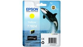 Ink Cartridge for EPSON SC-P600 - T7604 Yellow