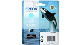 Ink Cartridge for EPSON SC-P600 - T7605 Light Cyan