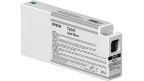 Ink Cartridge EPSON Singlepack Light Black T824700 UltraChrome HDX/HD 350ml