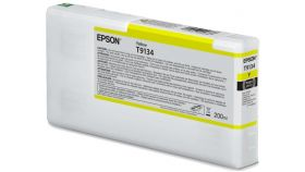 Ink Cartridge EPSON, Ultrachrome® HDR, T9134, Singlepack, 1 x 200.0mlYellow, Standard