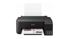InkJet Printer EPSON EcoTank L1110, 4 ink, 5.760 x 1.440 dpi, 10 pages/min Monochrome, 5 pages/min Colour